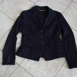 Michael Kors Black Button Front Blazer Jacket